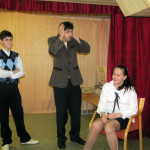 School English theatre