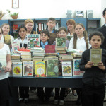 Service — books to children of Tskhinvali