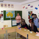 Meetings with people from English-speaking