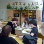 """Working on the project """"Power Industry of  Russia"""""""